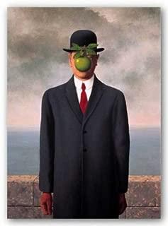 Son of Man Fils de l'Homme by Rene Magritte 19.75
