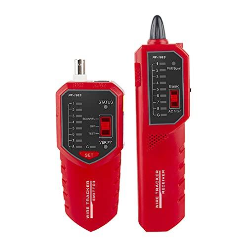 Wacent Probador de Cables NF-168S Rastreador de Cables Red telefónica Probador de...