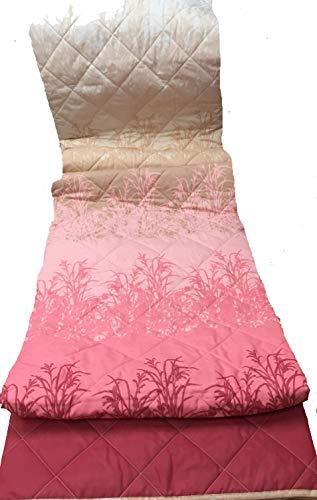 Caleffi Couvre-lit matelassé botanique pour lit Double