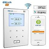 Elitech RCW-800 Wifi Capteur Moniteur de Température et d'Humidité Sans Fil, application mobile, Appareil...