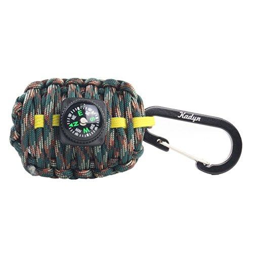 Kadyn Paracord Carabiner Survival Kit by Kadyn