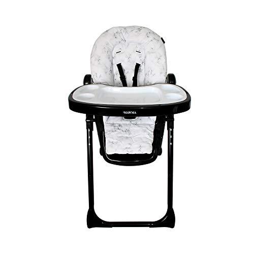 Your Babiie Nicole Polizzi MAWMA Chaise haute en marbre