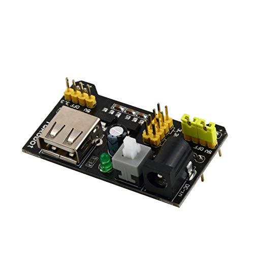 Turobayuusaku MB102 Breadboard Power Supply Module 3.3V/5V For Solderless Bread Board
