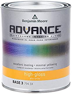 Benjamin Moore Advance High-Gloss Base 3 Alkyd Paint 1 qt. - Case of: 4