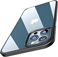 TOZO for iPhone 12 / iPhone 12 Pro Case 6.1 inch Hybrid Soft Grip Matte Finish Clear Back Panel Ultra-Thin [Slim Thin...