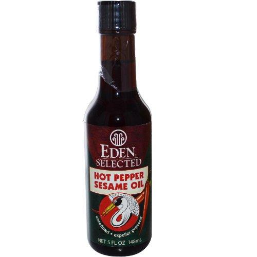 Eden Foods Sesame Oil, Hot Pepper, 5-Ounce