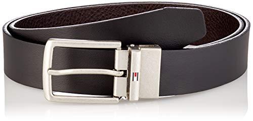 Tommy Hilfiger Herren Denton Leather Rev 3.5 Winter-Zubehör-Set, Black/Testa Di Moro, 105