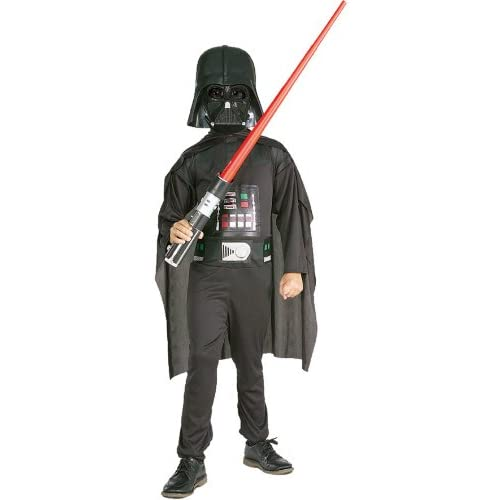Rubies 3 41020 Star Wars, Kit Costume e accessori da Darth Vader, Taglia L