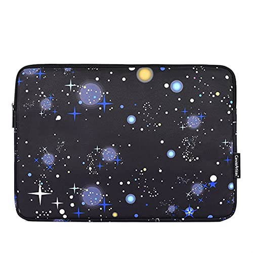 Bolso portátil de la Marca Impermeable 11,12,13,14,15,15.6 Pulgadas, Manga de la Manga de MacBook for MacBook for Air Pro M1 PC, (Color : H16 01Starry Sky, Size : 2016 2020 Mac Pro 13)
