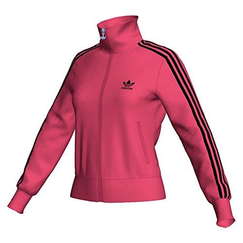 adidas Damen Sweatjacke Firebird Track, super pink s12/black, 40, W67914,