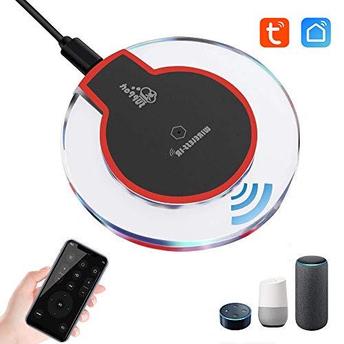 Newgoal WiFi (2,4 GHz) Infrarot-Universal-TV-DVD-Fernbedienung mit Klimaanlage und Tuya Smart Life APP-Smart-Home-Hub-Controller, kompatibel mit Alexa Google Home IFTTT
