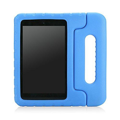 MoKo Fire HD 6 Hülle - Superleicht Eva Stoßfest Kinderfre&lich Kinder Schutzhülle mit umwandelbarer Griff & Standfunktion für Kindle Fire HD 6 Zoll (4. Generation - 2014 Modell), Blau