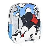 Cerdá Life's Little Moments Mochila Infantil Minnie Mouse con Aplicaciones de Color Rojo-Licencia Oficial Disney Studios, Unisex niños, Multicolor, 230X280X90MM