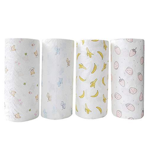 YWRD Toilettenpapier Kitchen Paper Küchenpapier Handtücher Seidenpapiere für die Küche Küchentücher Papierrolle Küchentuchrollen Recycelte Küchenrolle