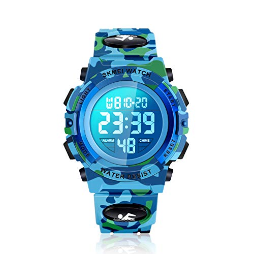 ATIMO Boy Toys Age 4-10, Waterproof Outdoor Sport Digital Wrist Watches Best Popular Christmas Xmas Toys for 5-12 Year Old Boys Girls Teen