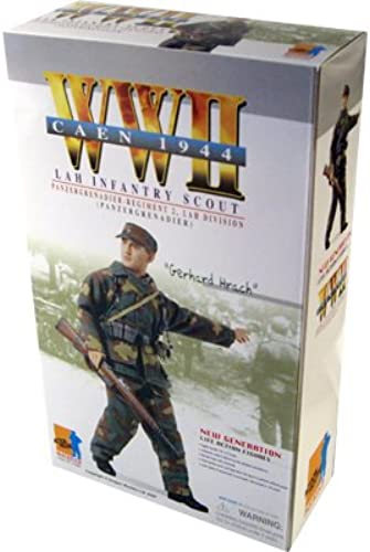 WWII Caen 1944 LAH Infantry Scout Gerhard Hrach 12 1 6th Scale Action Figure