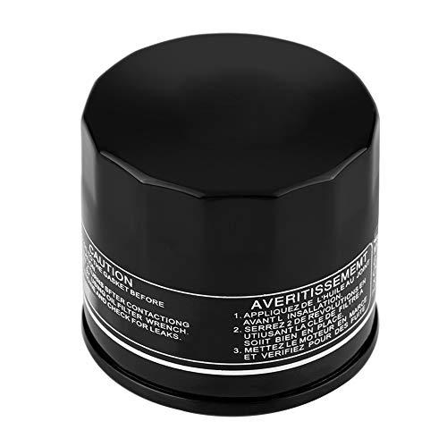 Filtro olio, Fydun Filtro olio moto per GSXR1000/600/750 GSX-R GSX1300R (Nero)