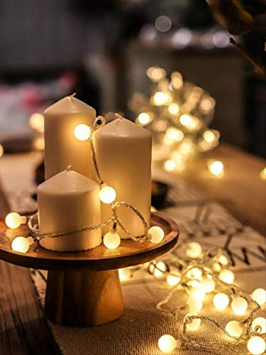 Fairytale LED-Lichterkette, Weihnachtsbeleuchtung, für den Außenbereich, batteriebetrieben, Party, Hochzeit, Weihnachten, Dekoration, Nachtlampe, USB-Stecker, 3 m
