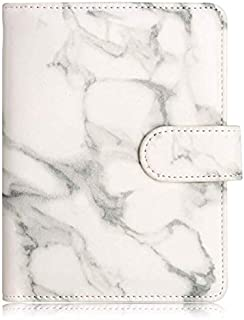 Passport Holder Leather Travel Wallet - RFID Blocking Passport Cover with Magnetic Closure for US Passport By Talent (Marble)