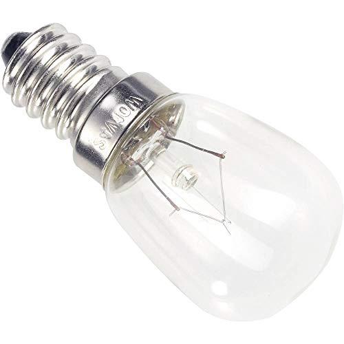 Lámpara de tubo pequeño eficiencia energética: E (A++ - E) Casco de barba 00982425, potencia: 25 W, transparente