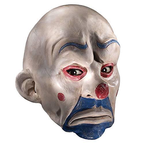 Batman Maske The Joker Clown Halloween Clownmaske