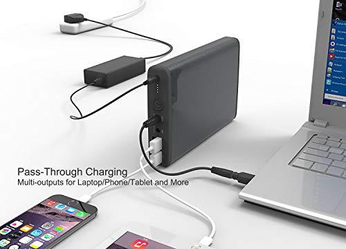 MAXOAK Gran Capacidad 50000mah Power Bank Batería Externa Cargador Portátil para Ordenador portátil Notebooks Sony, Dell, HP, Lenovo, Toshiba,Samsung,IBM,tabletas,Móviles,Smartphones(No para Apple Mac portátil)