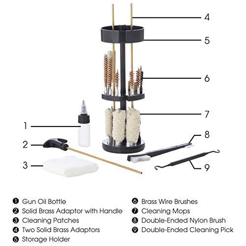 Wild Shot Deluxe Kit de nettoyage en balle Coque de Wild Shot