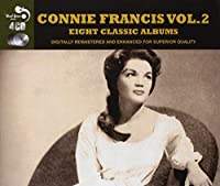 Connie Francis Vol. 2 - 8 Classic Albums