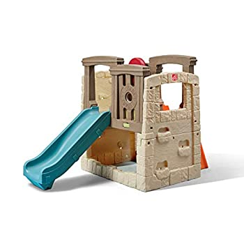 Step2 Naturally Playful Woodland Climber - Kids Durable Plastic Slides and Climbers Multicolor