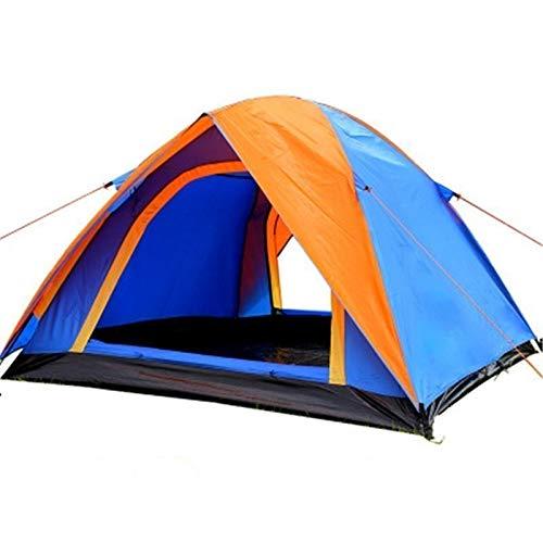 3-4 Personen Camping Zelt Dual Layer...
