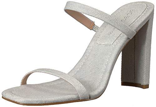 BCBGeneration Damen Whitney Sleek Mule Sandalen mit Absatz, hellblau, 39 EU