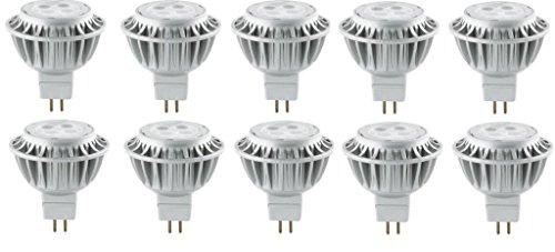 10x KHL Sparpack LED GU5,3 MR16 Reflektor Reflektorlampe 6,5W AC 12V KH11189