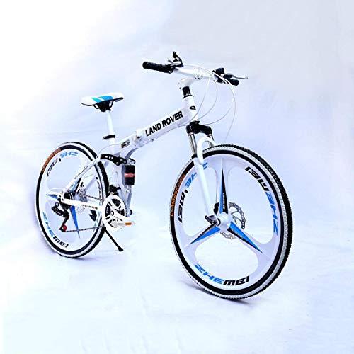 NZ-Children's bicycles Bicicleta de montaña Foiding, con Cuadro de Acero Mediano y...