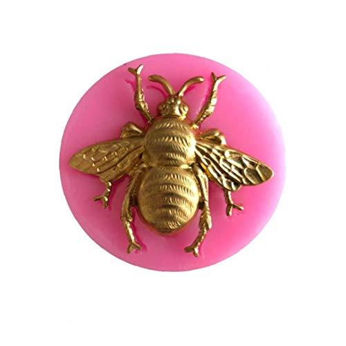 3D Bumble Bee Cake Silicone Mold Fondant Candy Chocolate Clay Mould Kitchen Baking Sugarcraft Cake Decorating Tools