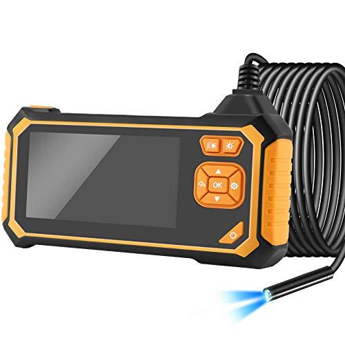 TSAI Endoscopio, 5.5mm 1080P HD Camara Inspeccion con 4.3 Pulgadas IPS Monitor LCD en Color…