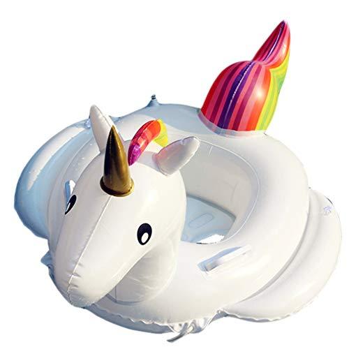 Flotador de Piscina,Inflable Unicornio Flotadores Hinchables Colchonetas Juguete de Piscina Anillo de Natacion para Niños