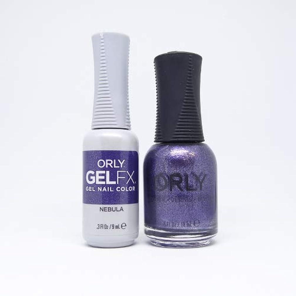 タウポ湖リル要求Orly - Perfect Pair Matching Lacquer + Gel FX - Nebula - 0.6 oz / 0.3 oz