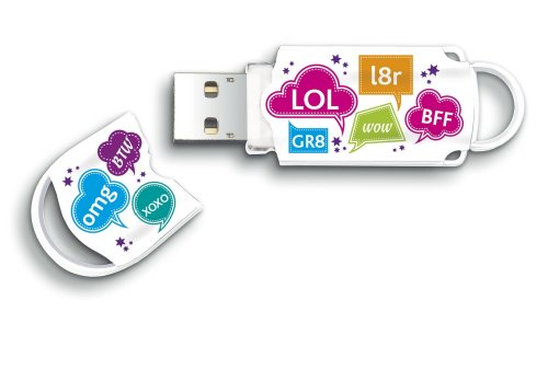 Integral Xpression 16GB USB-Stick mit SMS Motiv