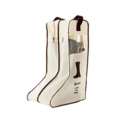 FakeFace Wasserdichte Stiefeltasche Schultasche Schuhbeutel mit Handgriff Tragbar Aufbewahrungstasche Reisetasche