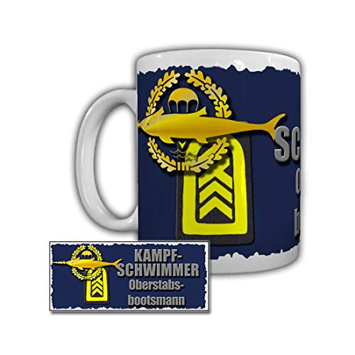 Tasse Kampfschwimmer Oberstabsbootsmann Kieler Förde A514 Bundeswehr #29260