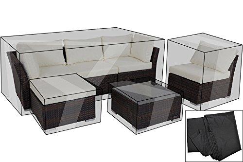 OUTFLEXX Premium Abdeckhaube für Sofaset 7759-BOX (Dreisitzer+Hocker+Sessel), wasserdicht