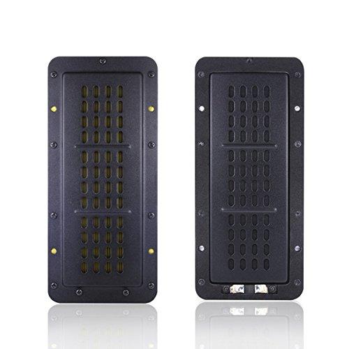 Bricolaje monitor de audio altavoz plano de alta potencia cinta tweeter transductor plano