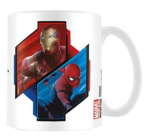 Pyramid International Spider-Man Heimkehr (Duo) OFFIZIELLER Box Keramik Kaffee/Tee Tasse, Papier, mehrfarbig, 11x 11x 1,3cm