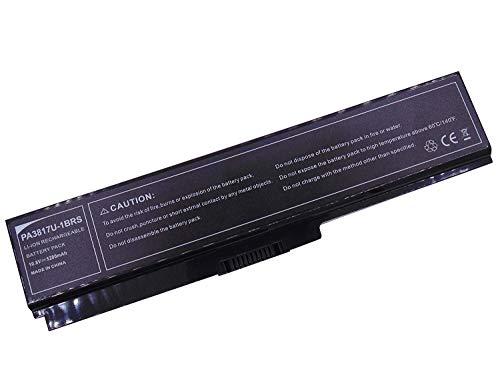 10,8v 4400mAh Batteria per Toshiba PA3817U-1BRS PA3818U-1BRS PA3819U-1BRS, Toshiba Satellite A660 A665 C600 C645 C650 C655C650 L630 L640 NB510 C670 C670D L670 L670D L675 L770 L770D L775