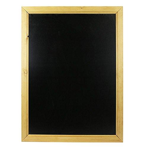 Chalkboards UK Tableau noir encadré en bois, noir