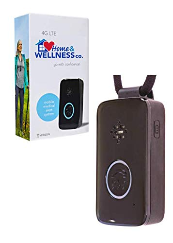Home&Wellness Senior Safety Medical Alert Device with Fall Detection. Verizon 4G. 4 Months Service Included