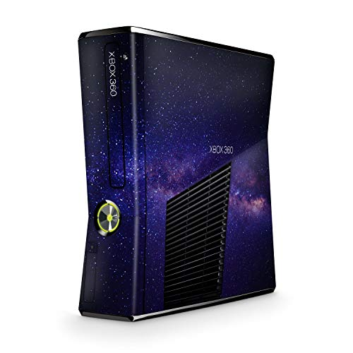 Skins4u Design modding Aufkleber Vinyl Skin Klebe Folie Skins Schutzfolie kompatibel mit Xbox 360 Slim Milky Way