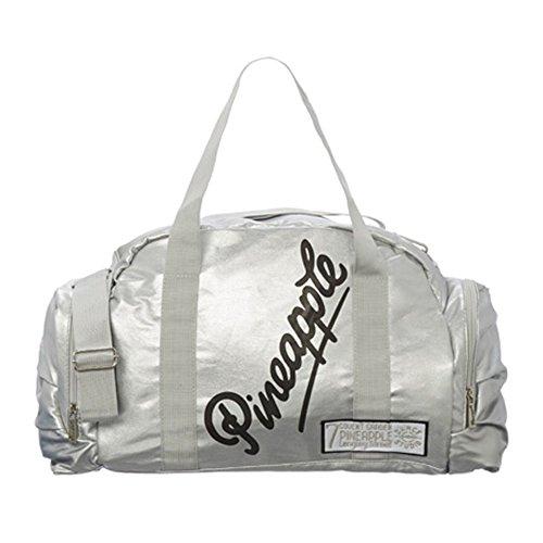 Pineapple Sporttasche für Tanzbekleidung und Zubehör, silber