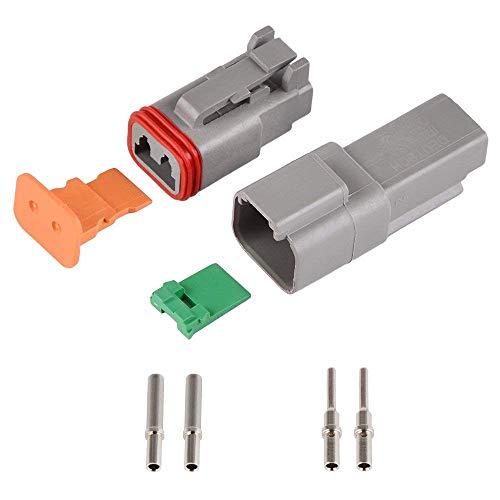 1 Sets Deutsch DT06/DT04 2P Motor Getriebe Wasserdicht Elektrische Stecker für Auto Bus LKW