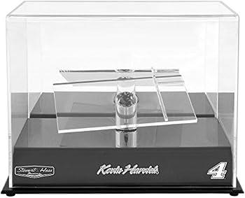 Kevin Harvick #4 Stewart-Haas Racing 1/24 Scale Die Cast Display Case With Platforms - Nascar Display Cases Logo